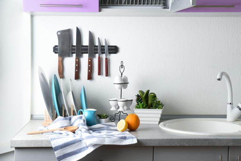 Förvaring av köksknivar