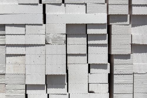 Lättbetongblock kan vara armerade eller oarmerade.